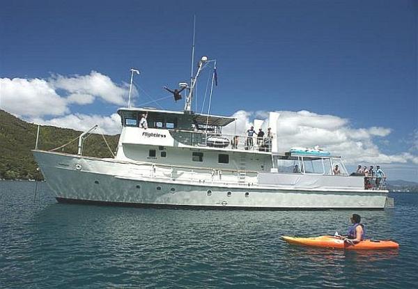 Blue Water Cruising Launch ex Navy Inshore Patrol vessel
