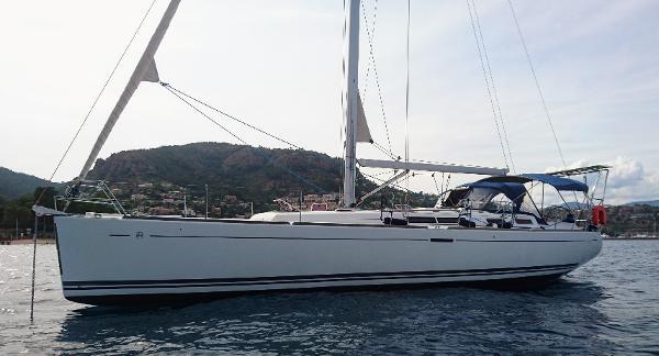 Dufour 455 Grand Large Au mouillage - At anchor