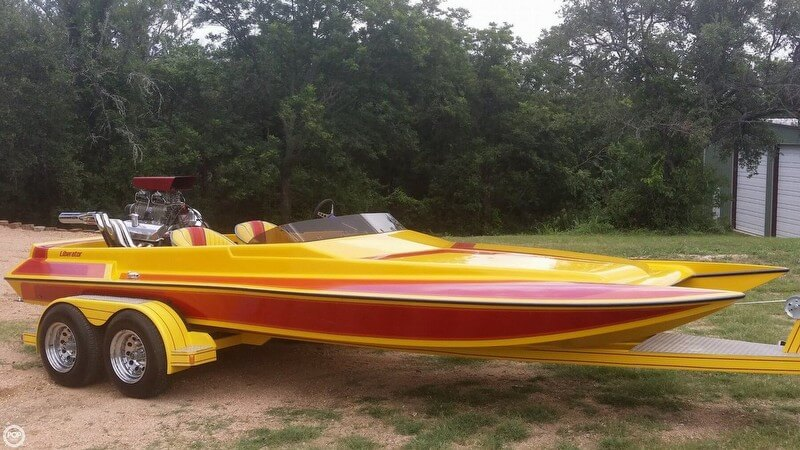 Liberator 21 Drag Boat 1994 Liberator 21 Drag Boat for sale in Marble Falls, TX