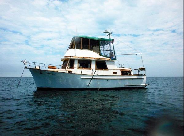 Chb Trawler At anchor