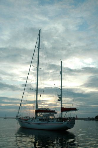 Laurent Giles 57' Aluminum Yawl -Expedition Vessel