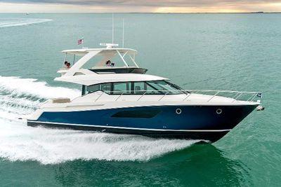 Tiara Yachts F53 Flybridge Manufacturer Provided Image