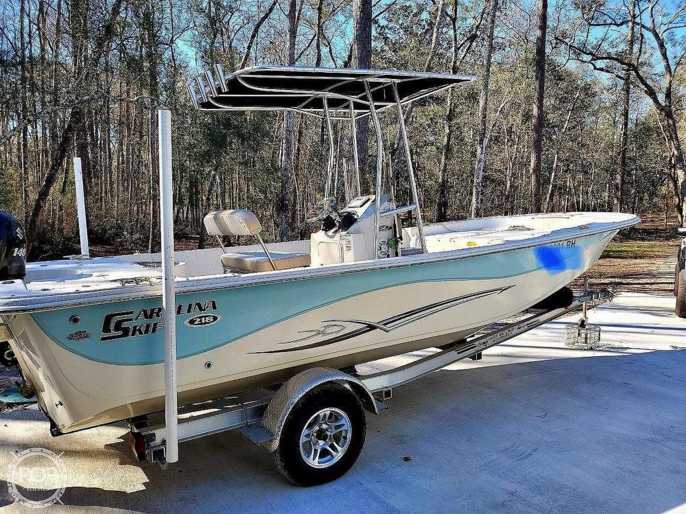 Carolina Skiff 218 DLV 2014 Carolina Skiff 218 DLV for sale in Crawfordville, FL
