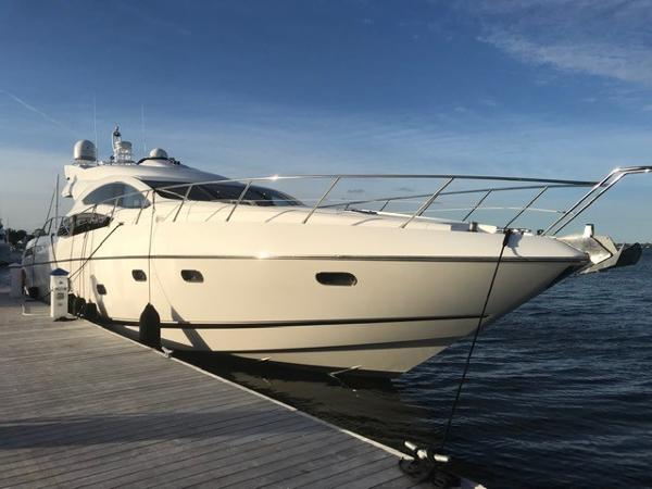 Sunseeker Predator 74 Starboard profile