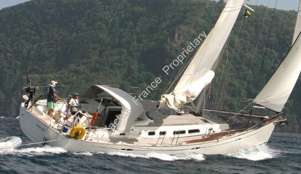 X-Yachts Xc 45 Xc 45 Kai Oti - Sailing Off Bequia