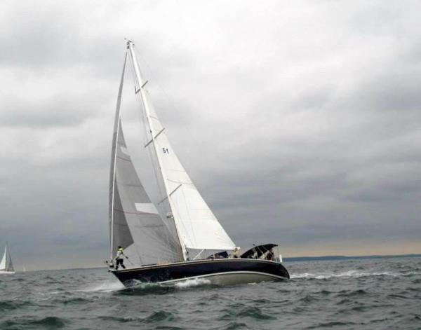 Beneteau First 51 Riley On A Port Running Tack