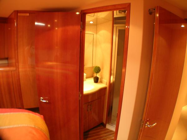 Bow Stateroom looking into Head
