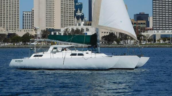 Norman Cross Trimaran
