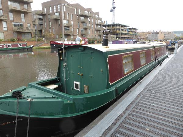 Narrowboat - Liverpool Boats 52 Trad by Paul Williams Narrowboat