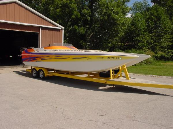 Elite Powerboats 308 Catamaran 31Ft. TRIP. 2.5