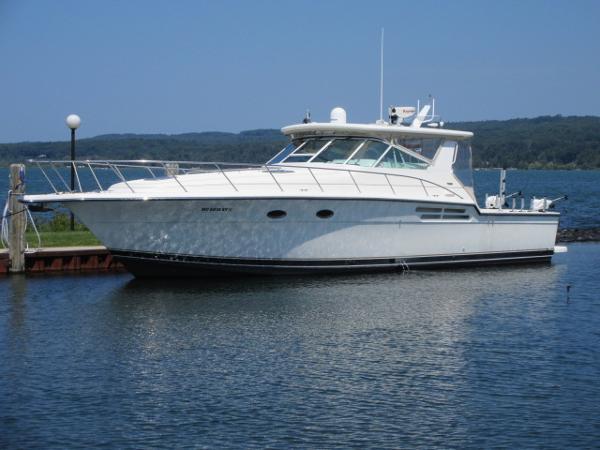 Tiara 43 Open Starboard Profile