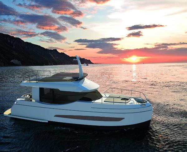 Naval Yachts GreeNaval 40 Electric Yacht Naval Yachts GreeNaval 40 Electric Yacht