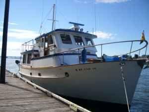 Bluewater Trawler Pilothouse Photo 1