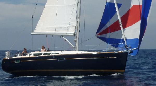 Jeanneau Sun Odyssey 42i Alize Under sail
