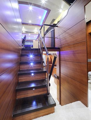 Dyna Craft 61 Interior Stairs