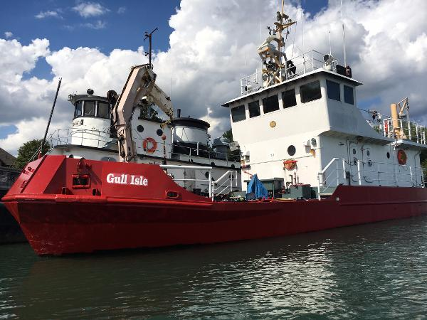 19.05m Steel Ex CCG Buoy Tender Twin Screw