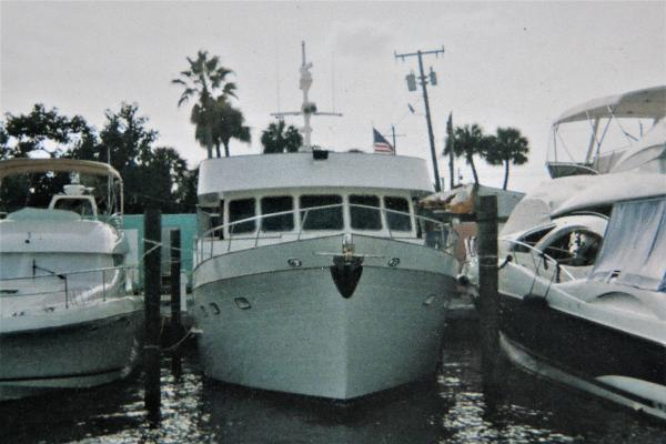 DeFever Off Shore Pilothouse At Dock