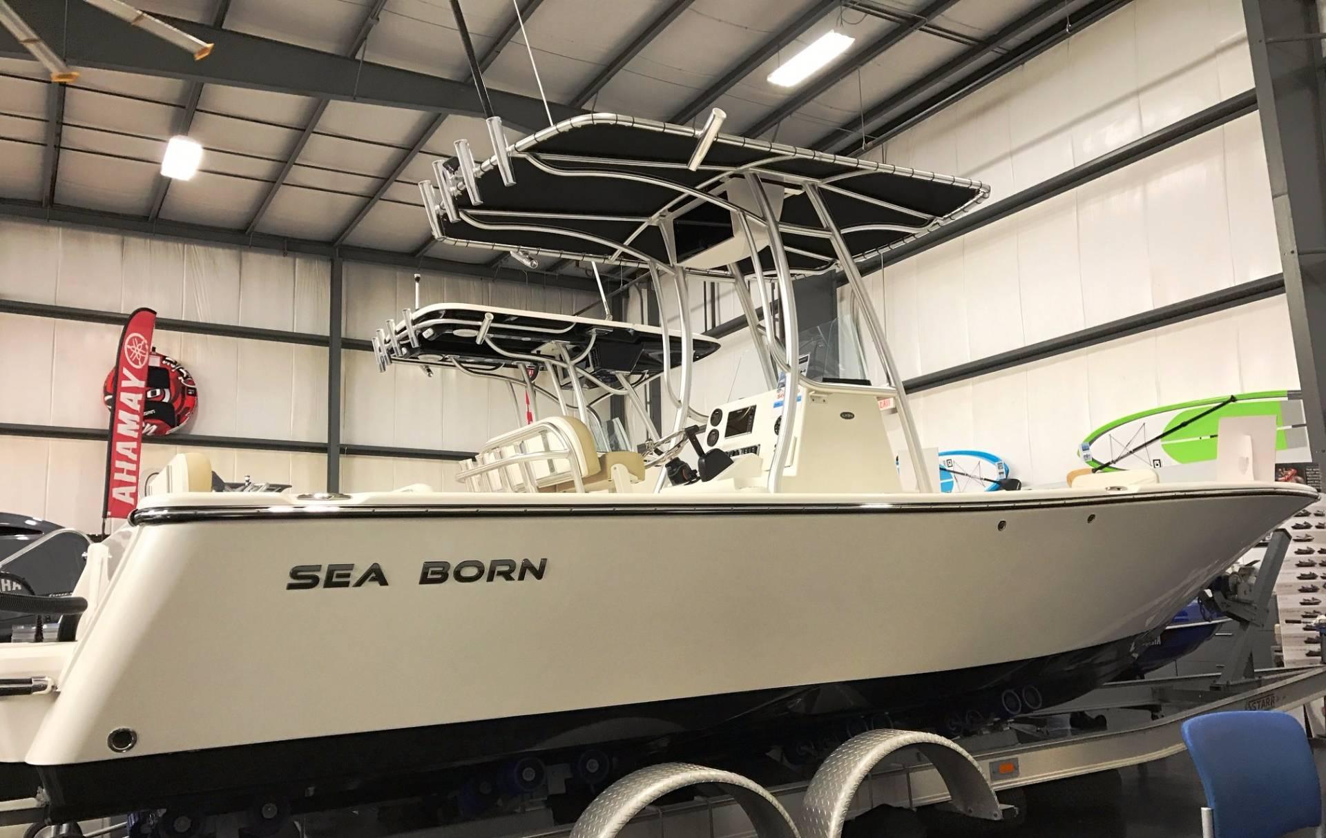 Sea Born LX24 Center Console