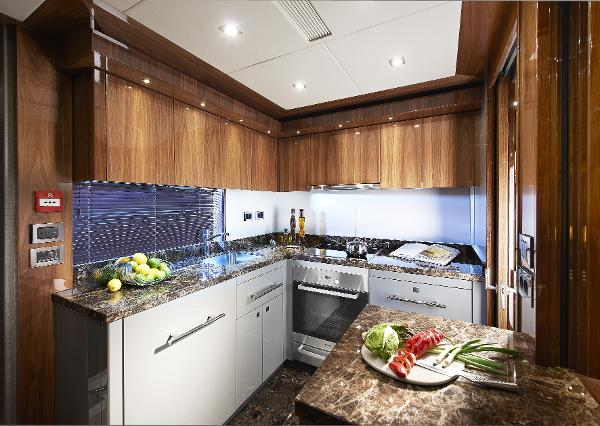 Sunseeker 28 M Yacht Galley