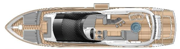 Sunseeker 28 M Yacht Flybridge Layout Plans