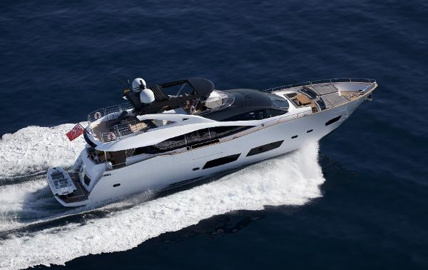 Sunseeker 28 M Yacht View From Above