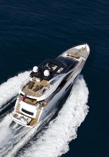 Sunseeker 28 M Yacht Stern