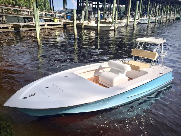 Winter Custom Carolina 16 Flats Skiff