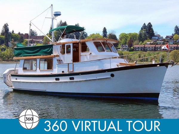 Blue Water 40 Pilothouse Trawler Main