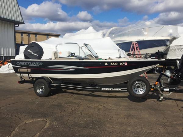 Crestliner 1750 fish hawk video boat review for Crestliner fish hawk