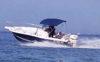 White Shark 225 Manufacturer Provided Image: 225 Cruising