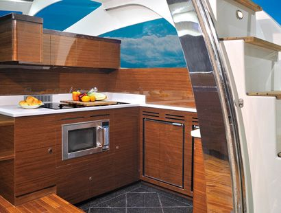 Dyna Craft 52 Galley