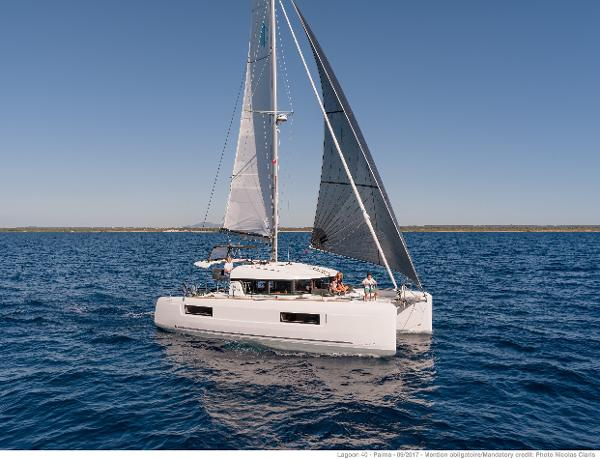 Lagoon 40 Manufacturer Provided Image: Manufacturer Provided Image: Lagoon 40