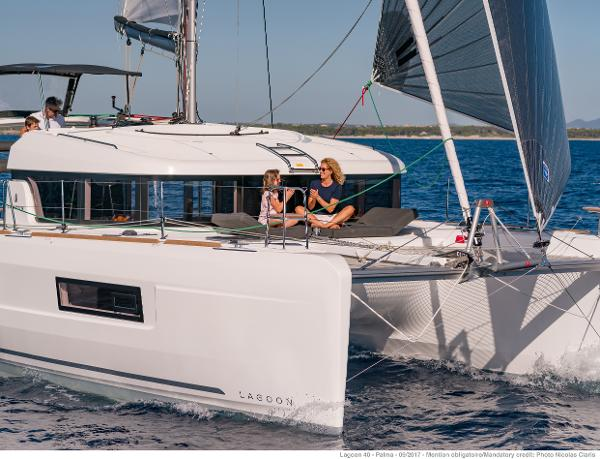 Lagoon 40 Manufacturer Provided Image: Lagoon 40