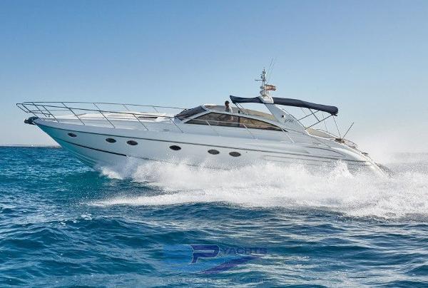 Princess V 55 princess-v55-motor-yacht-ibiza-town-exterior