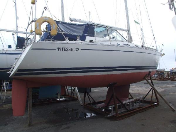 LM 33 Vitesse Cabrio Ashore Starboard Side