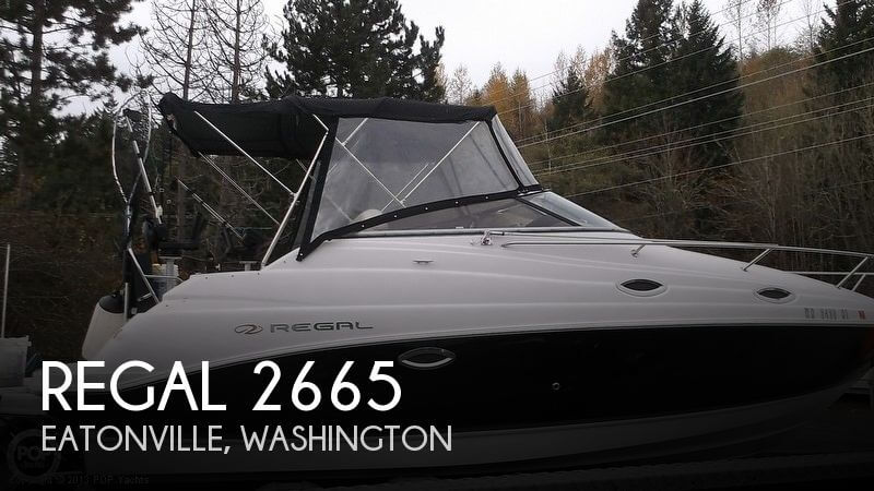 Regal 2665 Regal 2008 Regal 2665 for sale in Eatonville, WA