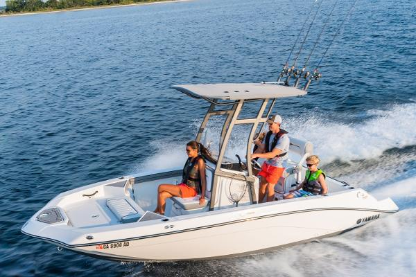 Yamaha Boats 190 FSH Sport Manufacturer Provided Image