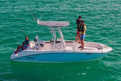 Yamaha Boats 210 FSH Sport Manufacturer Provided Image