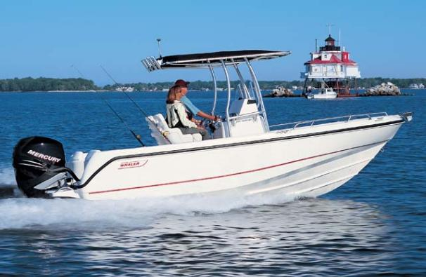 Boston Whaler 210 Outrage Manufacturer Provided Image