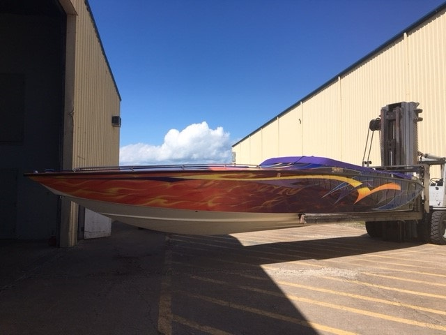 Velocity Powerboat 36'