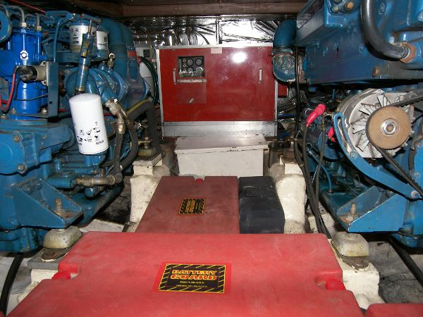 Engine room aft
