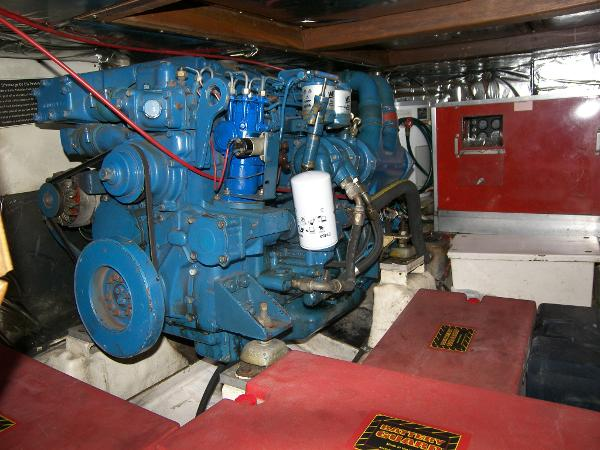 Engine room port side