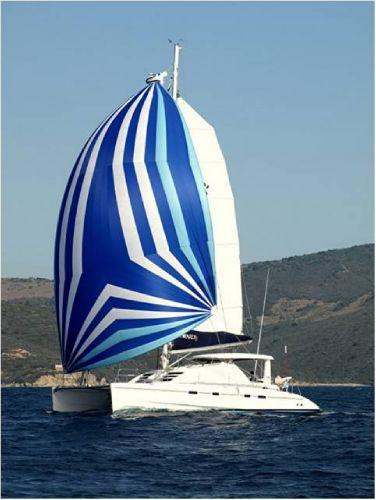 Genaker sailing