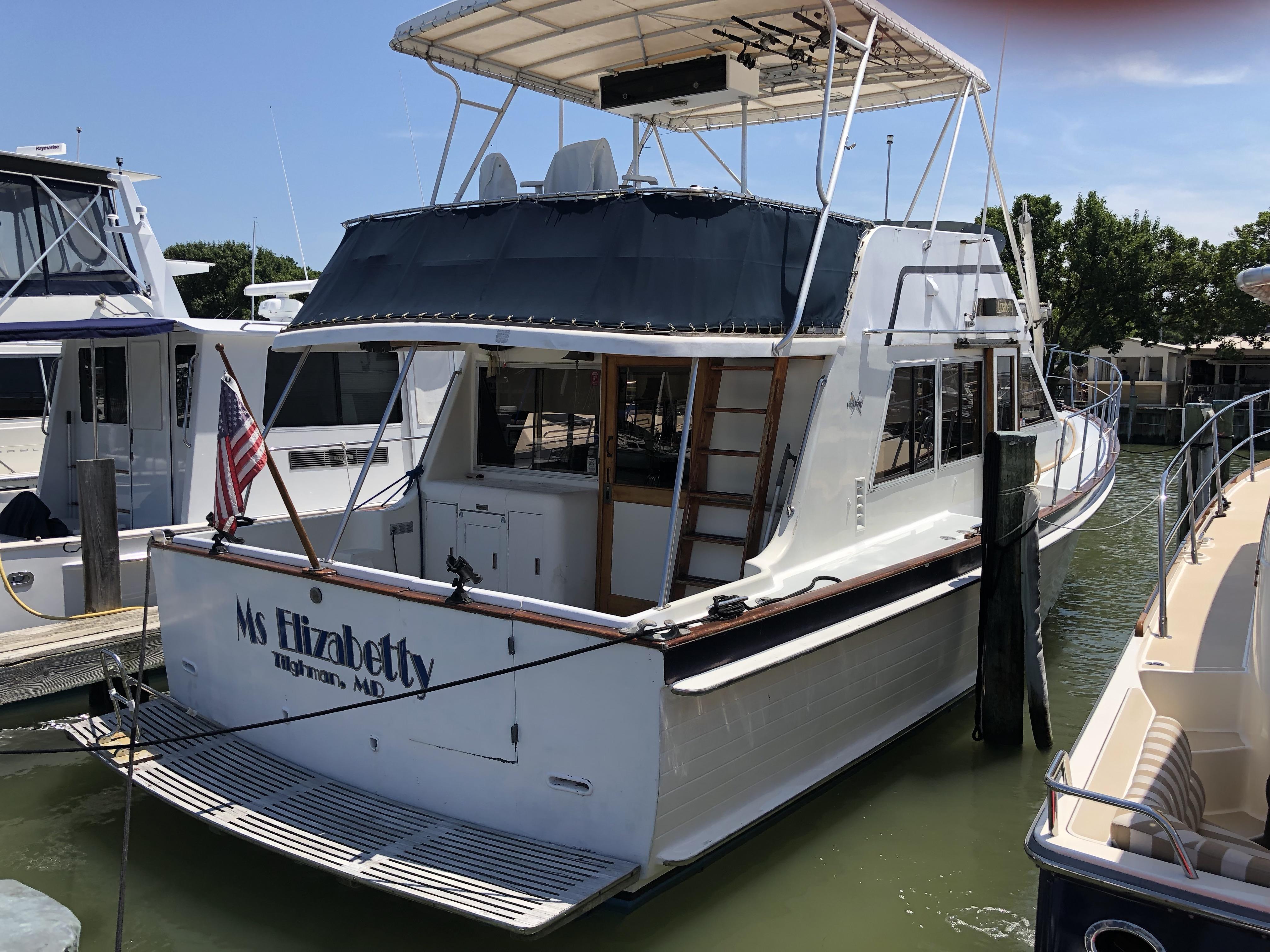 Island Gypsy 40 Europa trawler