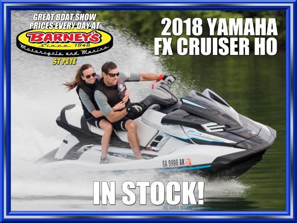 Yamaha WaveRunner FX Cruiser H/O