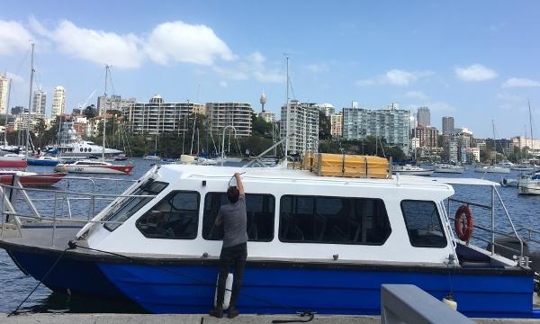 Custom Water Taxi