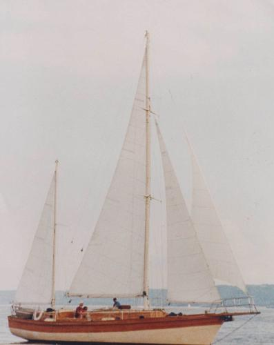 Brewer 42 Ketch