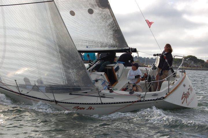 C&C 34 Beer cans 2011. 3DL sails have been replaced