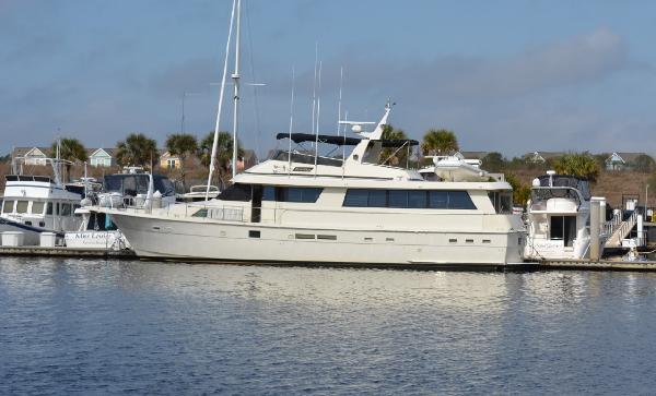 Hatteras 70 Motor Yacht Profile