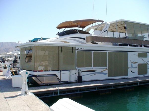 Fantasy Houseboat Custom Houseboat Photo 1